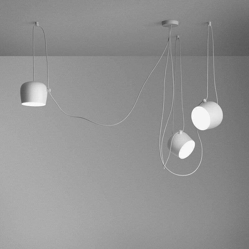 Candelabros modernos, decoración para el hogar, lustres de Rero, sala de estar industrial para lámpara de araña, comedor