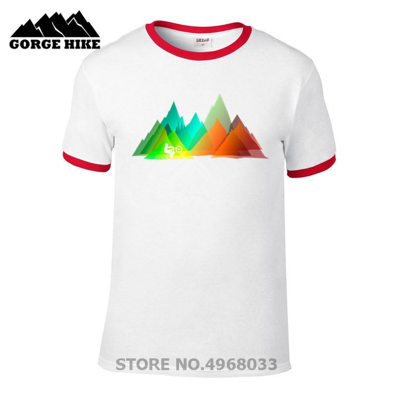 2019 hombres de moda camiseta Creator Mountain Biking MTB camisa con Downhill Freeride camisetas hombre Custome camiseta Tops muñeca calabaza