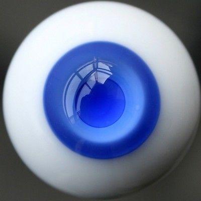 [Wamami] 12mm azul y Medium azul para BJD DOD AOD muñeca Dollfie ojos de vidrio conjunto