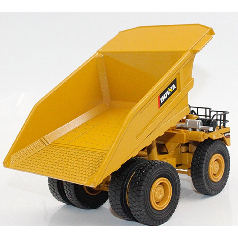 HUINA TOYS NO.1912 1/40 Alloy Mining Dump Trucks Car Die-Cast Metal Engineering Construction Vehicle Model Kids Xmas Toy Hobby