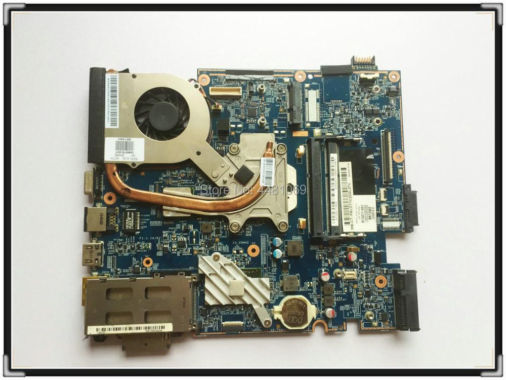 اللوحة الأم للكمبيوتر المحمول HP 4525S 613211-001 مع غرفة التبريد بدلاً من 613212-001 622587-001 وحدة المعالجة المركزية المجانية 48.4GJ02.011 اختبار العمل