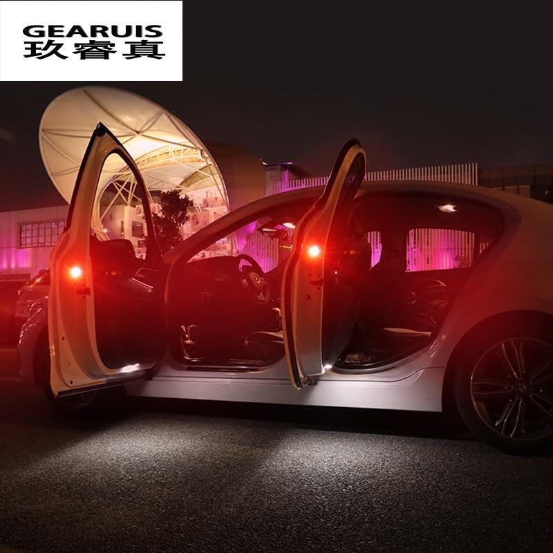 Автомобильный Стайлинг, автомобильная дверь, предупреждающий свет, led декоративный для BMW F10 E90 F20 F30 E60 E46 GT F07 X3 f25 X4 f26 X5 X6 E70 E71 аксессуары