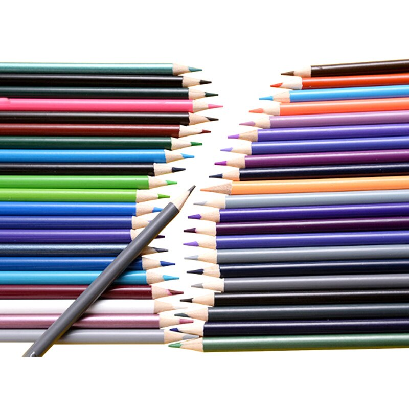 Lápices De colores 72/120 lapislázuli De Cor Professional color aceite lápiz artista escuela De pintura suministros lápiz De dibujo BOCETOS