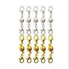 5 pcs/lot homard magnétique fermoir aimant boucle boule snap connecteurs pour collier bracelet bijoux à bricoler soi-même faisant des accessoires matériel