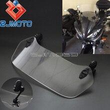 Moto Regolabile Clip-on Parabrezza Spoiler Parabrezza Deflettore X-Creen per Yamaha Yzf R3 R1 FZ1 FZ6 FZ8 fazer MT-09 FZ-09