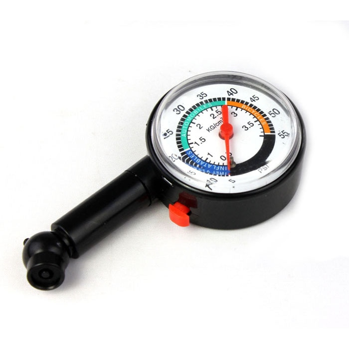 Tire Air Pressure Gauge Dial Meter Vehicle Tester Auto Motor Accessories Car Styling Car Truck Bike Tyre Tools