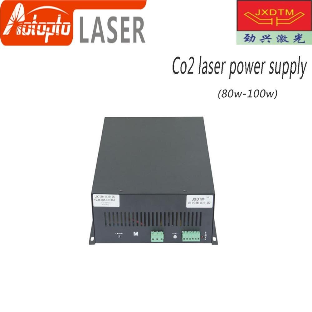 Excelente fuente de alimentación láser de Control de corriente baja 80 w-100 w JXDTM
