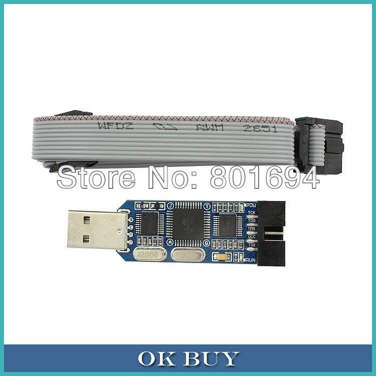 USB AVR JTAG Programmer Debugger Emulator Com Proteção Para Atmega, Flash, EEPROM
