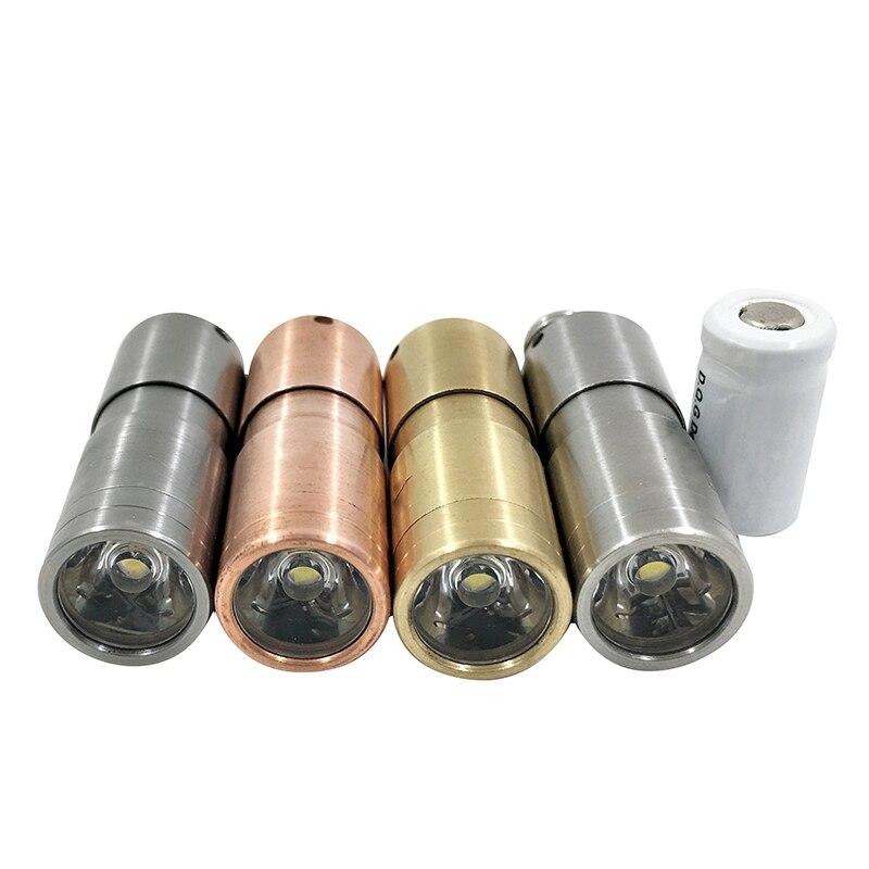 Mini LED Flashligh + 10180 batterie + o-ringe + schlüsselring Multimaterial Hobi PLUS 10180 XP-G2 NW USB Aufladbare für Outdoor Wandern