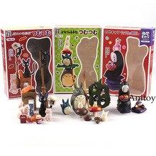 Figura de acción Anime Miyazaki Hayao gato negro Jiji familia sin rostro hombre grandes, medios Mini Totoro Hada polvo PVC juguete muñecas regalo Ghibli