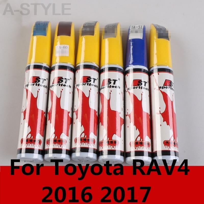 Para Toyota RAV4 RAV 4 2016 2017, nuevo diseño de coche, portátil, producto de reparación de rayaduras de coche, pluma de pintura automática, accesorios para coche