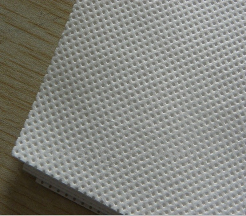Non-woven fabric clean room wipes/cleaning cloth printer parts