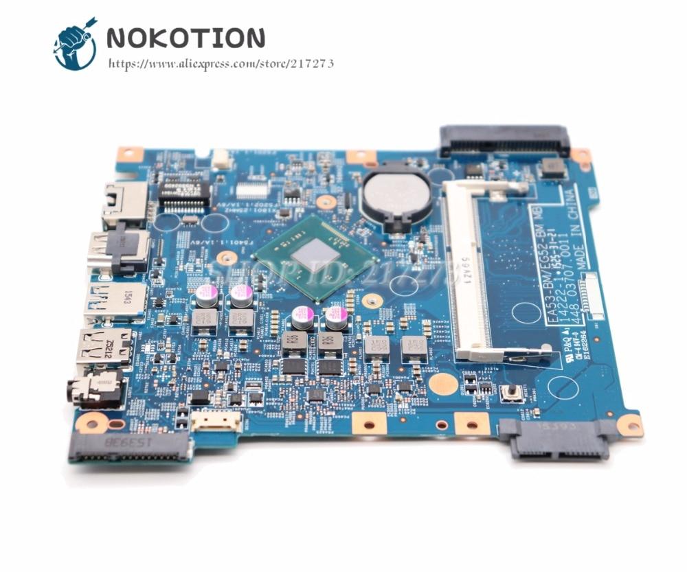 NOKOTION لشركة أيسر أسباير ES1-512 اللوحة المحمول EA53-BM EG52-BM MB 14222-1 448.03708.0011 الرئيسي مجلس DDR3