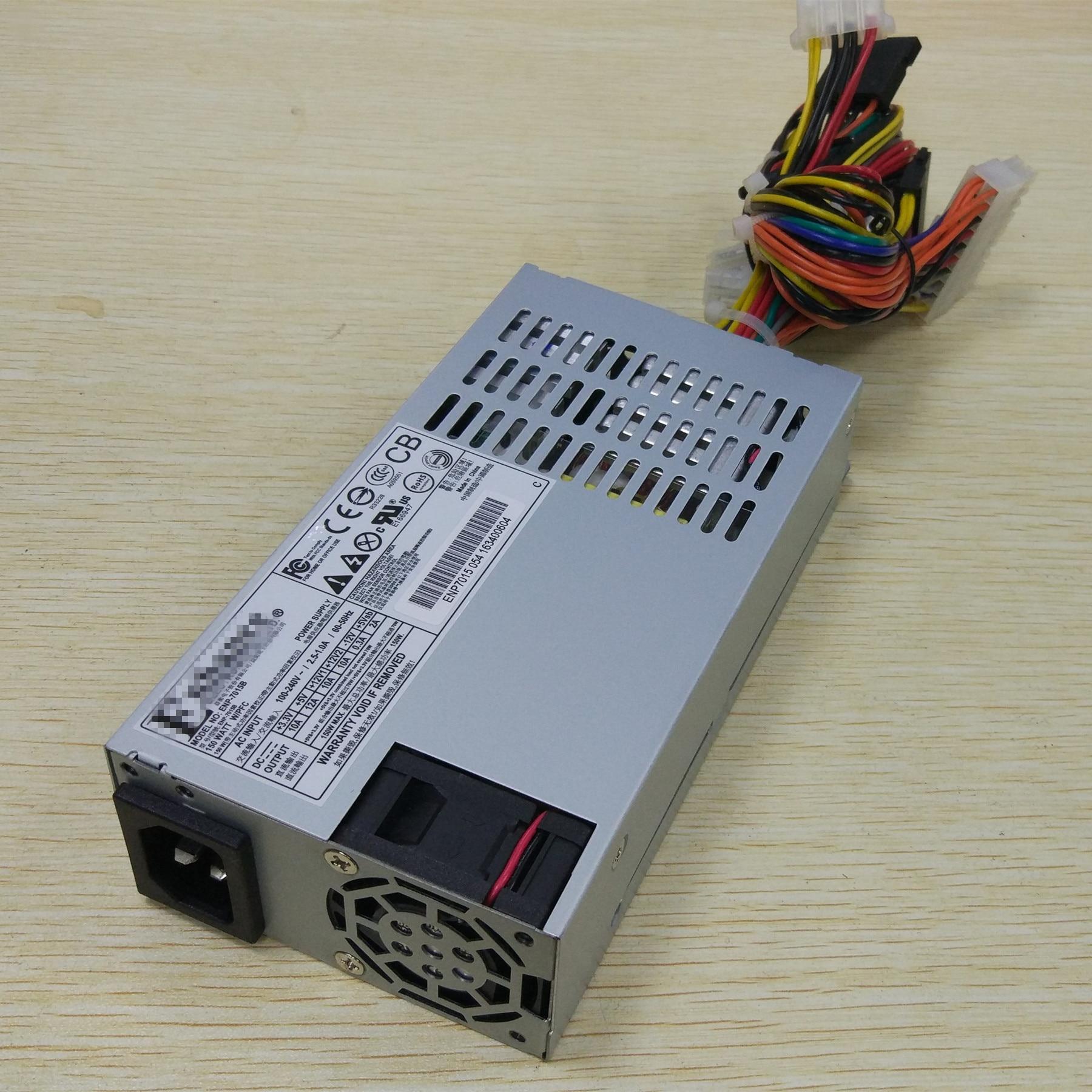 Fuente de alimentación de alta eficiencia PSU nominal 1U flex 150W servidor Industrial NAS chasis ENP7015B bajo ruido activo PFC 100-240V