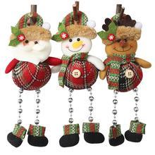 Colgante de Navidad, cuentas Gebu, patas, decoración de ventana, Adornos de árbol de Navidad