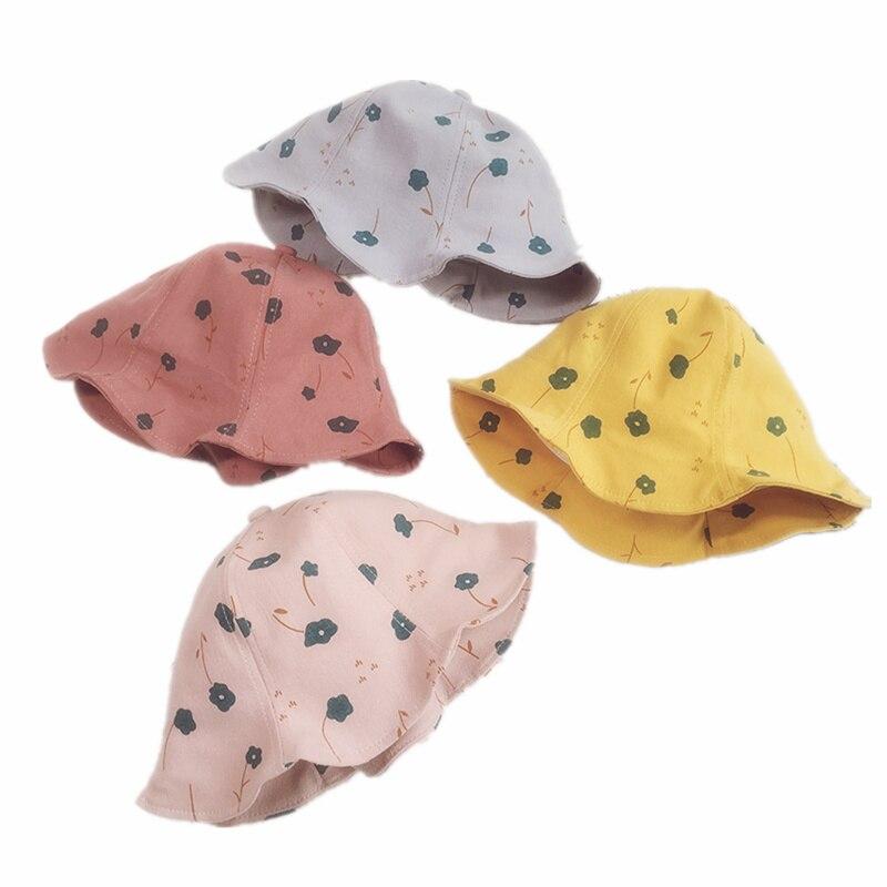 Los niños Sol de celosía acogedor sombrero niños gorra infantil visera verano sombreros gorras de bebé de algodón suave Sombrero de Panamá