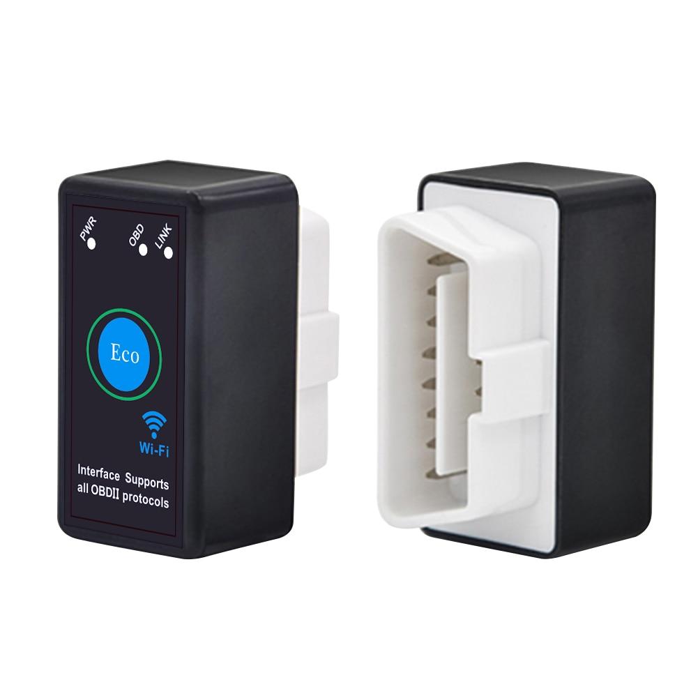 2019 Hot ELM327 OBDII OBD2 V1.5 WiFi Car Diagnostic Wireless Scanner Tool Car Accessories ELM327 V1.5  M8617 wifi obdii scan tool elm327 for ios