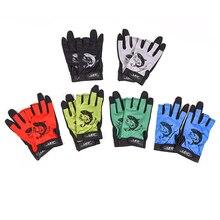 New 1Pair Outdoor Sport Waterproof 3 Cut Finger Anti-slip Non-Slip Breathable Fishing Gloves