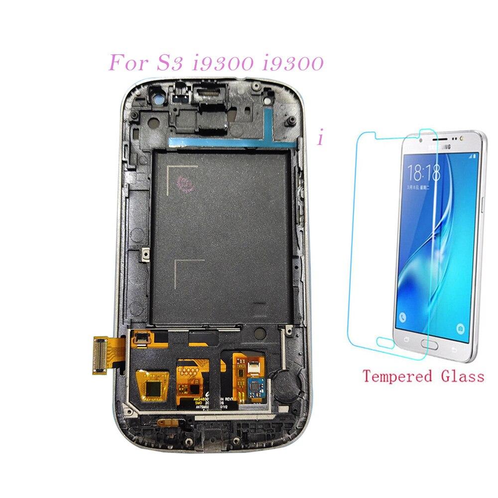 Teste de Tela De LCD Para Samsung Galaxy i9300 i9300i S3 i9301 i9308i Digitador Touch Screen Display LCD Ajuste Para Samsung S3 i9300