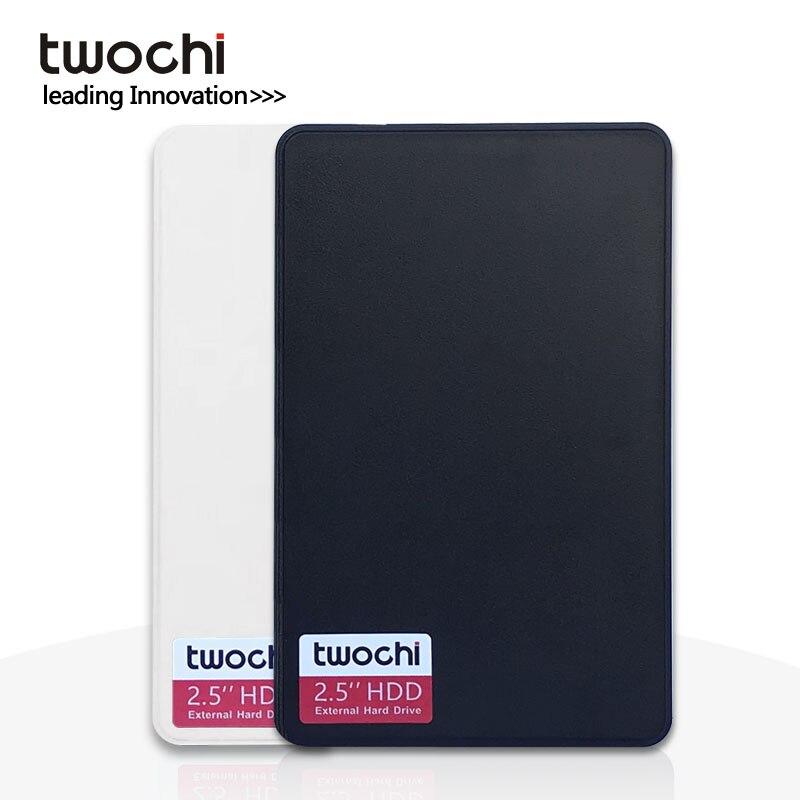 Nuevo estilo TWOCHI A1 Original 2,5 disco duro externo 40GB USB2.0 disco HDD portátil Plug and Play en venta