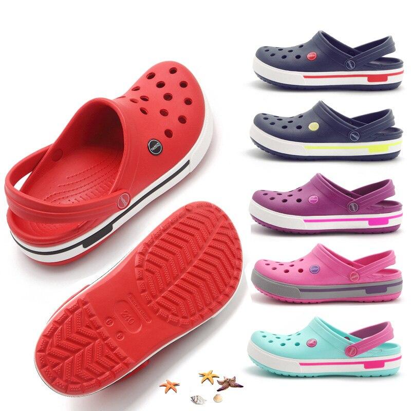 2021всесезонные женские сабо Садовые сандалии Милые тапочки ярких
