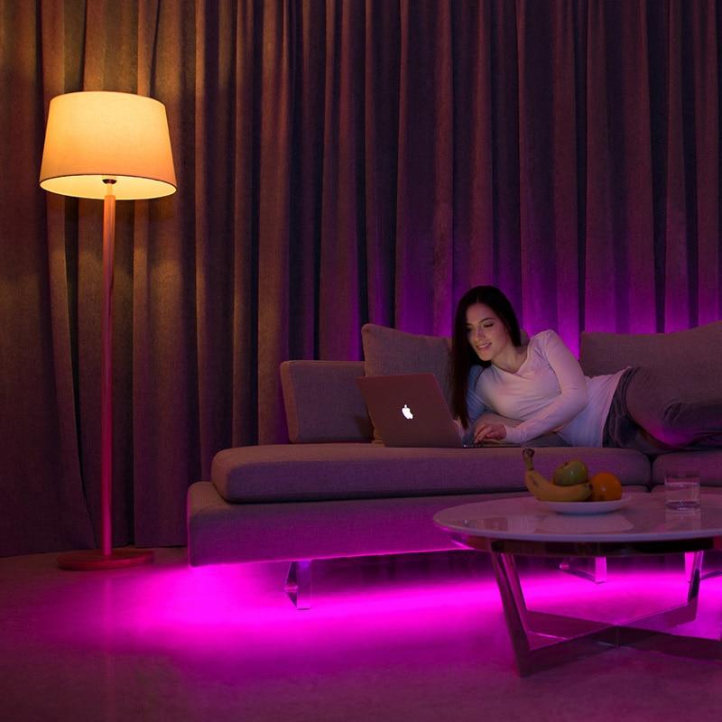 [ English Version ] Mi Yeelight Smart LED Bulb Colorful 800 Lumens 10W E27 Lemon Lamp For Home App White/RGB Option