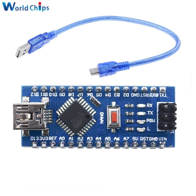 Мини-USB с контроллером загрузчика Nano 3,0