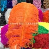 100pclot 55 60cm 22 24 royal blueorange ostrich feather ostrich plumage plumes wedding decorations