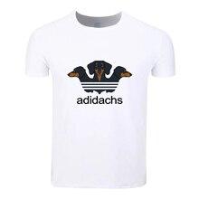 Dachshund Fashion Cotton Big Size Students Summer T-Shirt Short Sleeve Men Women Boys Girls T Shirt Tees Kids Tshirt
