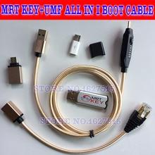Le plus récent MRT dongle/mrt clé 2 + umf tout en i câble de démarrage pour Meizu OPPO coolpad hongmi déverrouiller Flyme compte supprimer