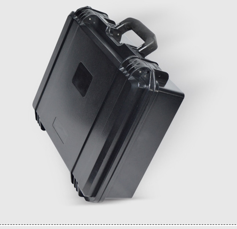 Plastic multifunctional outdoor instrument case waterproof plastic camera box with foam
