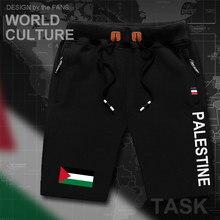 State of Palestine Palestinian mens shorts beach man mens board shorts flag workout zipper pocket sweat bodybuilding  PS PSE