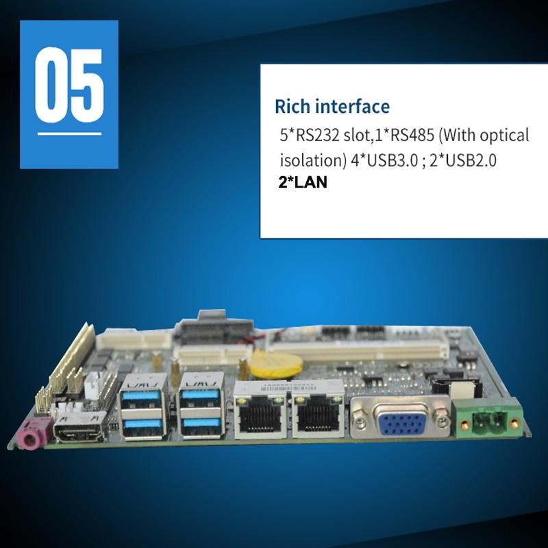 Mainboard intel 6th 7th Gen i7 CPU Integrated intel Skylake Kabylake i7-7500U processor 4Gb ram industrial motherboard enlarge