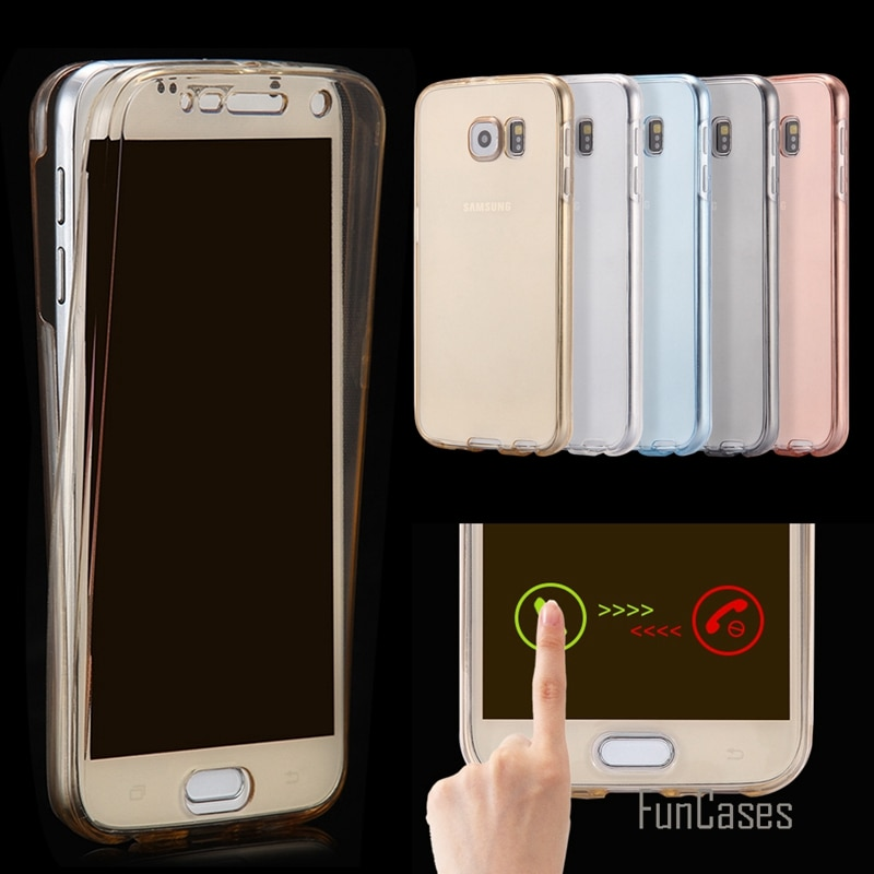 Funda transparente de cobertura completa para Huawei P Smart Plus 2019 P30 Pro Honor 10 Lite 360 grados de protección TPU suave funda trasera frontal