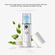 PULVERIZADOR Nano vaporizador portátil para el cuerpo Facial, vaporizador hidratante para el cuidado de la piel, Mini USB, aerosol Facial, instrumentos de belleza L3