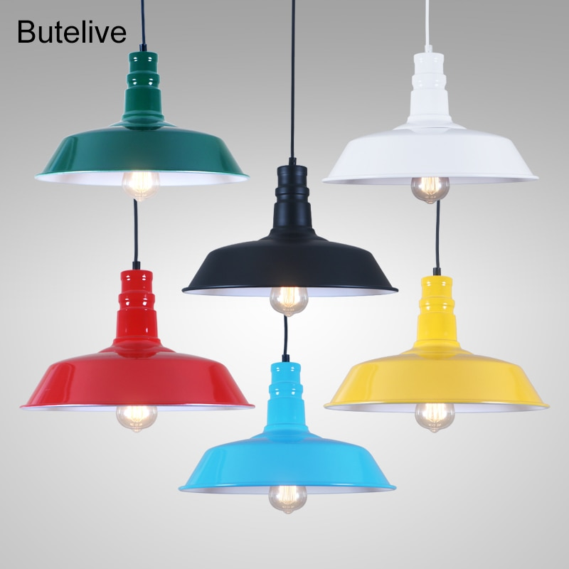 Lámpara Colgante Industrial De Luces colgantes modernas, lámpara Colgante Vintage para comedor, lámparas De habitación led, lámparas De cocina De Techo moderno