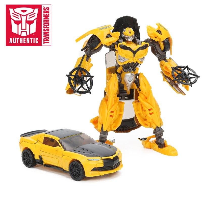 Transformers Toys-figuras de acción del último Caballero, edición Premier, Bumblebee, barricada, Berserker Dinobot Slash, modelo de colección