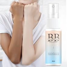 New 20ML Portable Whitening Sunscreen Spray Body Sunscreen Concealer Moisturizing Cream BB Cream Foundation Makeup
