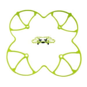 DJI Tello quadcopter aircraft propeller shield remote unmanned aircraft blade green protection ring