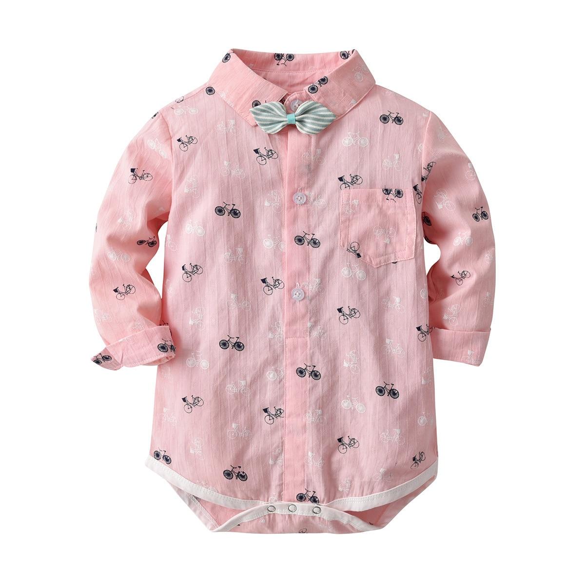 Детский комбинезон Oklady с коротким рукавом из 100% хлопка Одежда для новорожденных