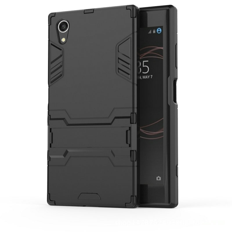 Противоударный жесткий чехол для Sony Xperia XA1 Plus Dual G3421 G3423 для Sony Xperia XZ1 Compact XZ XZs Combo Armor Case iron cover