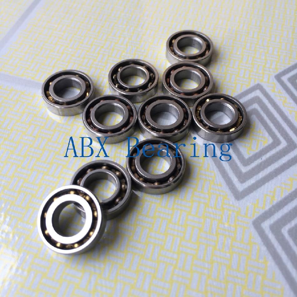 Envío gratis 10 Uds rodamientos abiertos tipo SMR84 4x8x2mm rodamientos de bolas de acero inoxidable DDL-840 ABEC5