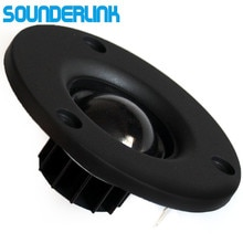 "2 stuk/partij Audio Labs HiFi zijde zachte Dome speaker tweeter unit 3 ""inch unit 6 Ohm en 8 Ohm desktop monitor home theater Diy"