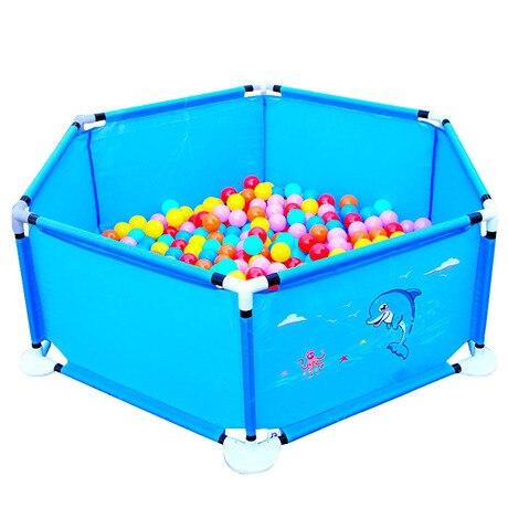 Bebé corralito actividad equipo poliéster barrera piscina de bolas para bebes cabane Infant Parque plegable ballenbak portátil nuevo
