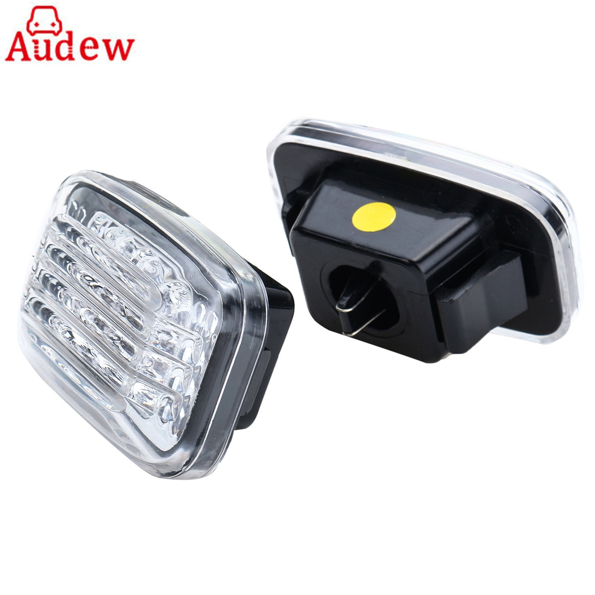 2Pcs Car Side Marker Lamp LED Turn Signal Light For Toyota Land Cruiser 70 80 100 Series Amber