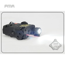FMA PEQ-15 LA5 Upgrade Version LED White Flashlight + Red laser with IR Lenses Tactical Hunting Rifl