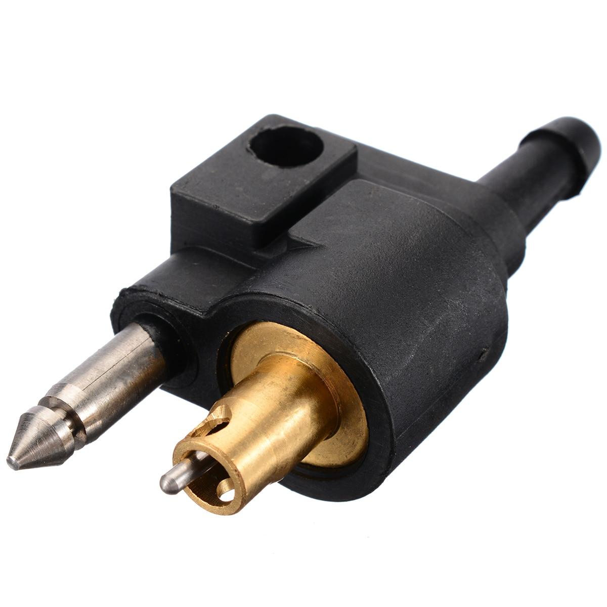 """1/4 """"manguera Motor fueraborda de combustible conector de sedal negro fuera de borda gasolina encaja para Motor fueraborda Yamaha tubo de combustible 6mm"""
