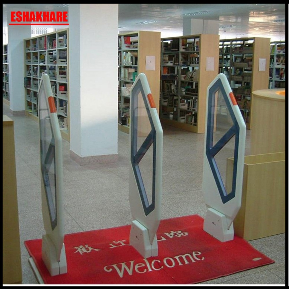 Library security tag system for university and book store,EM security alarm system with sound and light alrm