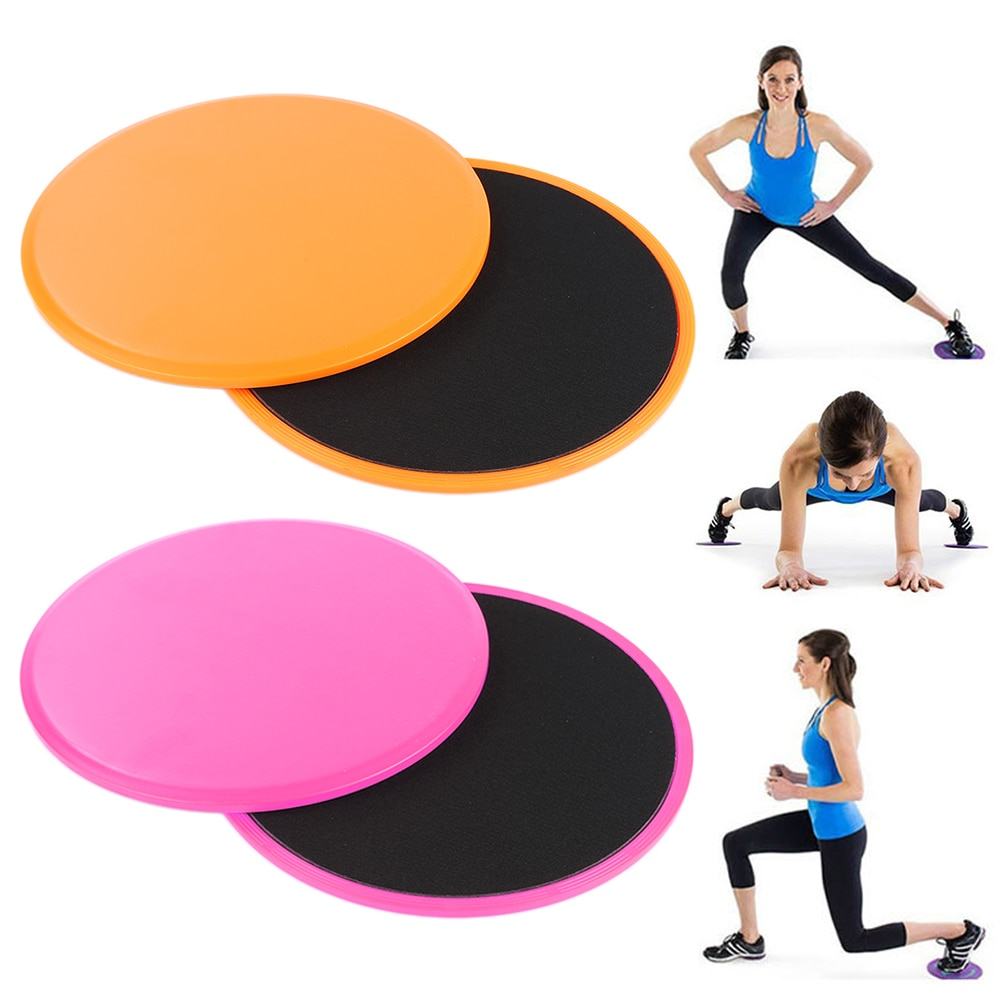 Brand Hot Sell Yoga Glid Discs Fitness Abdominal Workout Exercise Rapid Training Slider Gliding Disc