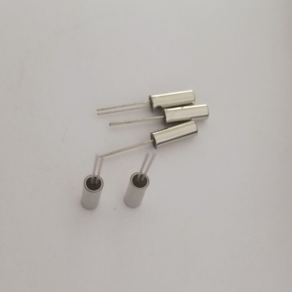 10pcs Quartz crystal cylindrical crystal oscillator 8.000MHZ 2*6 Resonator 20PPM 8M 8MHZ JU206